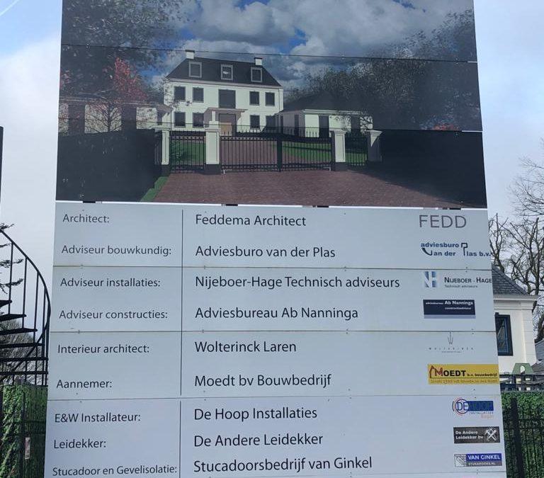 Nieuwbouw Villa Groningen